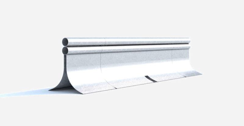 Stahlschutzwand Mini Guard Ret