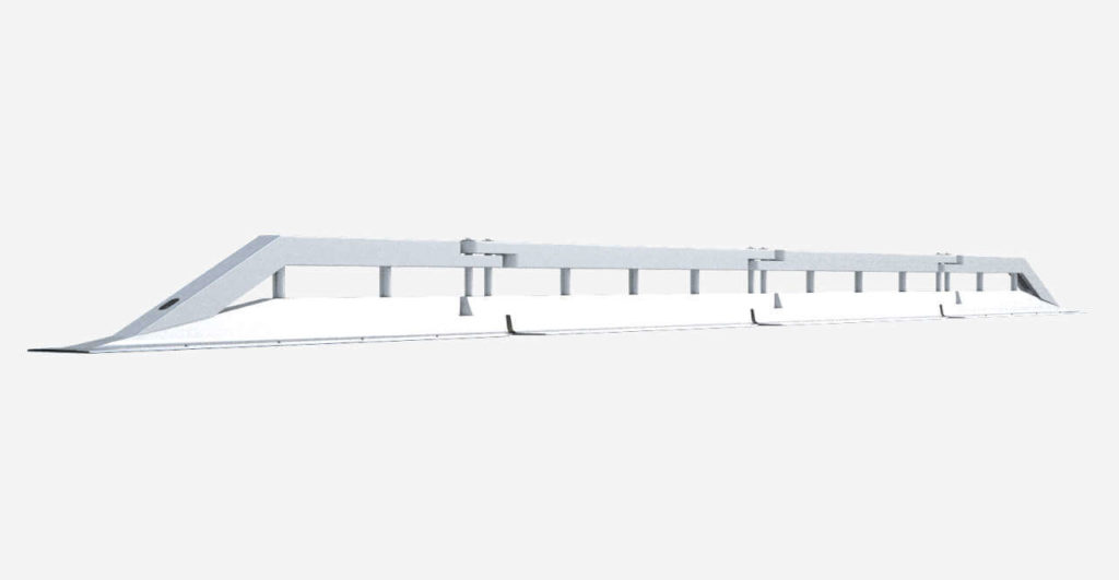 Stahlschutzwand Variogate Ret