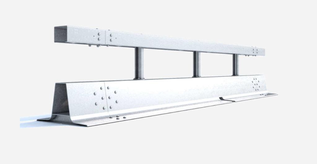 Stahlschutzwand Varioguard Geschraubt Ret