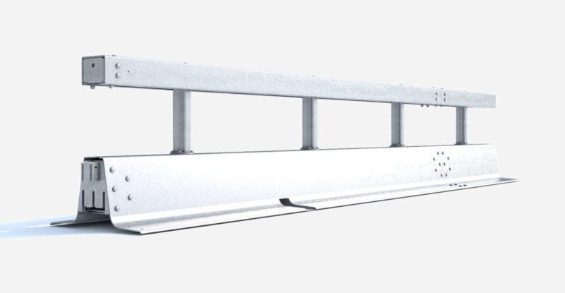 Stahlschutzwand Varioguard Schnellverbinder Ret