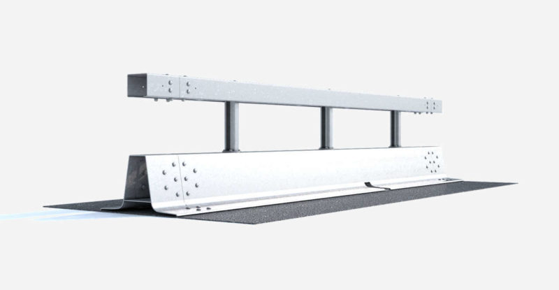 Stahlschutzwand Varioguard Verankert Ret